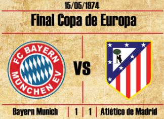 final copa de europa 1974 bayer munich atletico de madrid