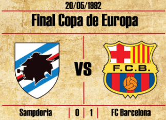 final copa de europa 1992 Barcelona Sampdoria