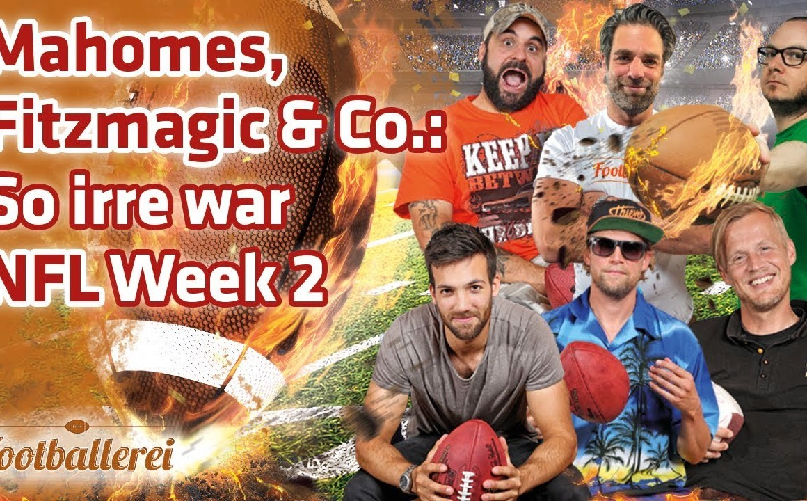 Mahomes, Fitzmagic & Co.: So irre war NFL Week 2