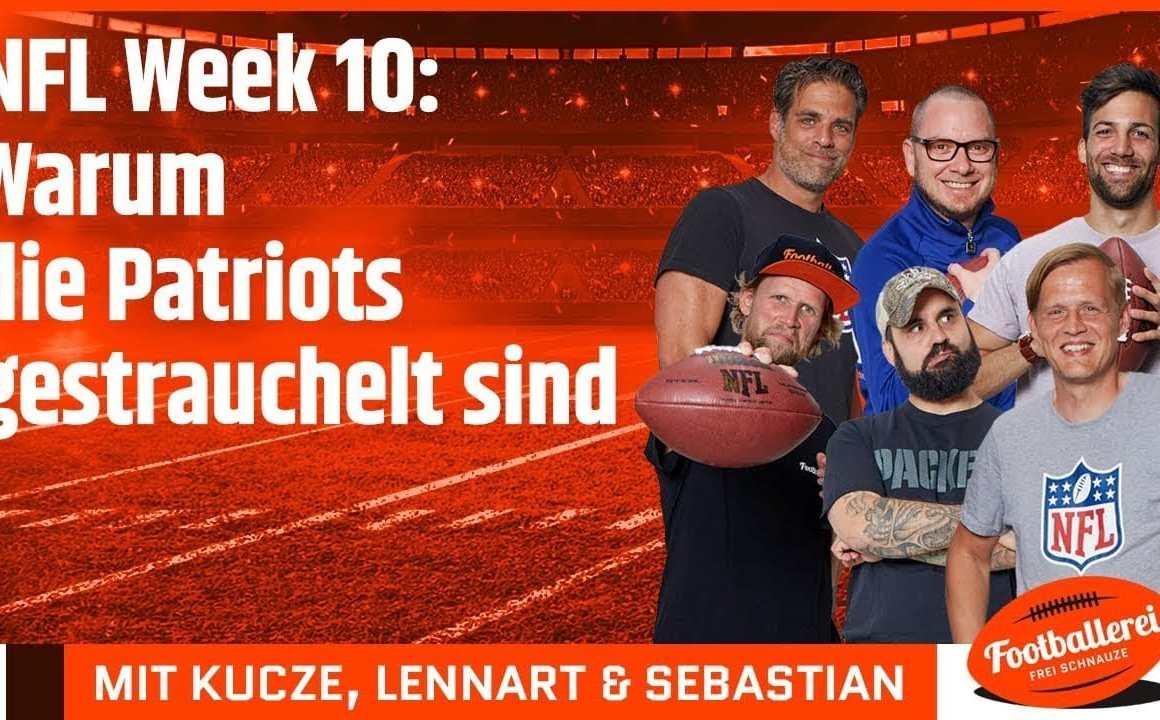 NFL Week 10: Warum die Patriots gestrauchelt sind