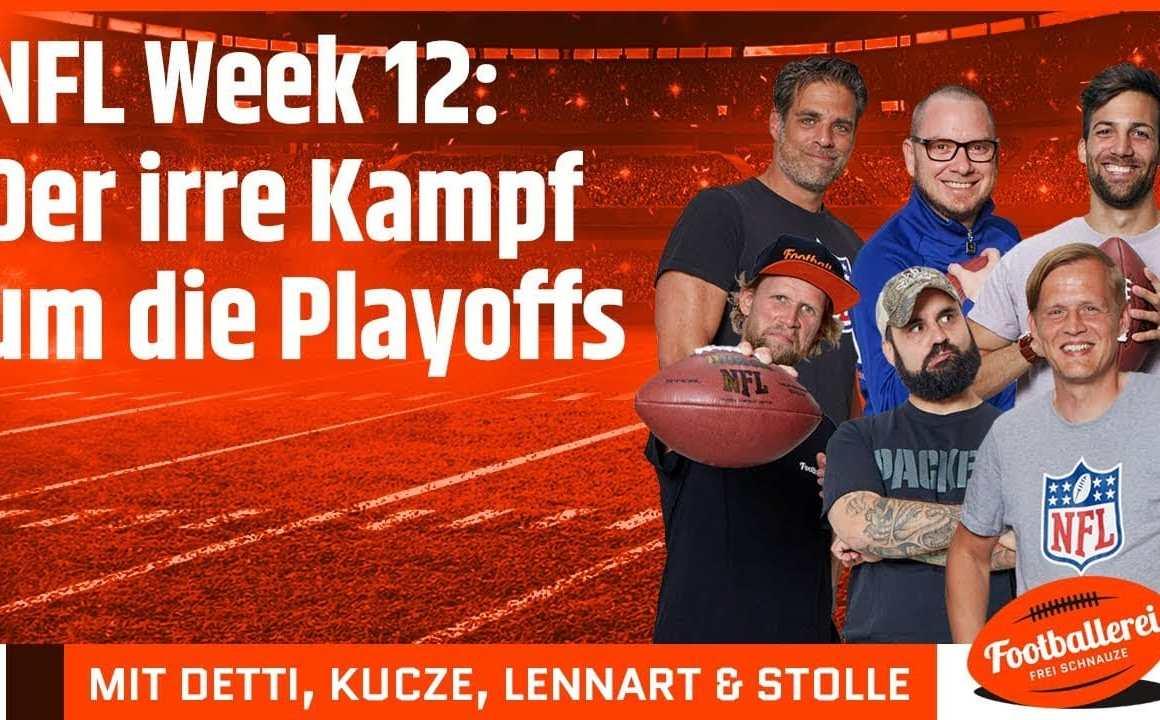 NFL Week 12: Der irre Kampf um die Playoffs