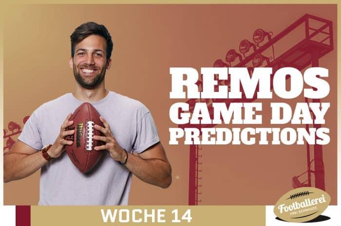 Division-Könige und zwei Rookies – Remos NFL Week 14