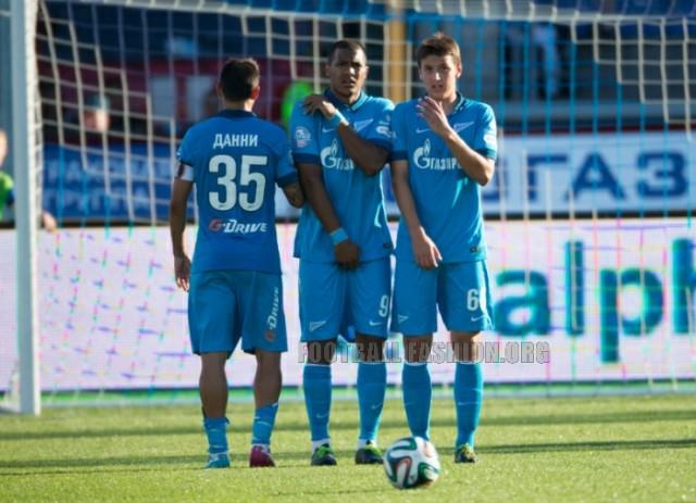 FC Zenit Saint Petersburg 2014 2015 Nike Home and Away Football Kit, Soccer Jersey