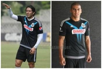 Chivas de Guadalajara Black adidas 2015 Third Soccer Jersey, Camiseta, Playera, Equipacion de Gala