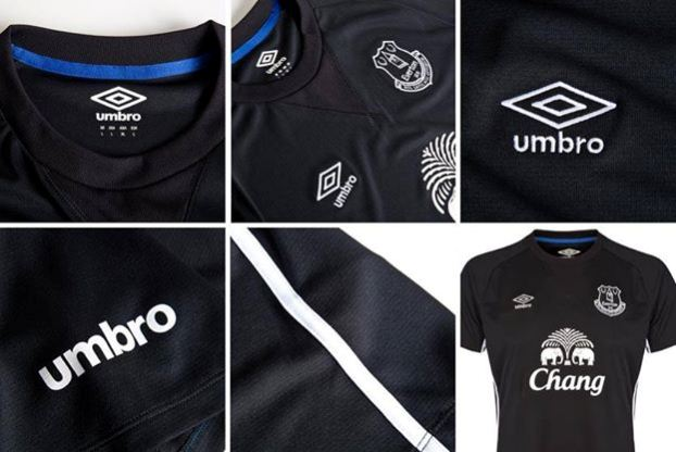 Everton Football Club 2014 2015 Umbro Away Kit, Shirt, Soccer Jersey