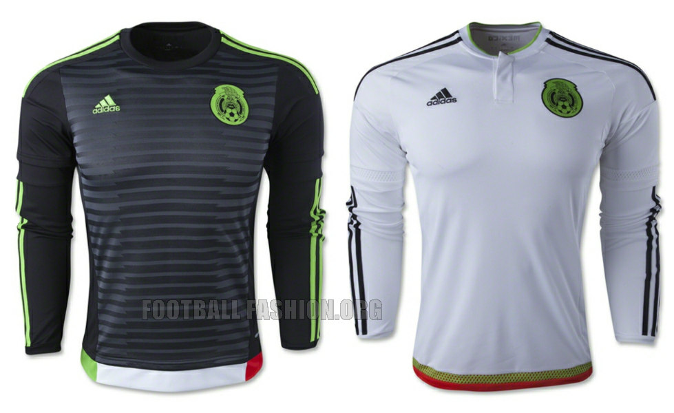 Mexico 2015/16 adidas Home and Away Jerseys - FOOTBALL FASHION