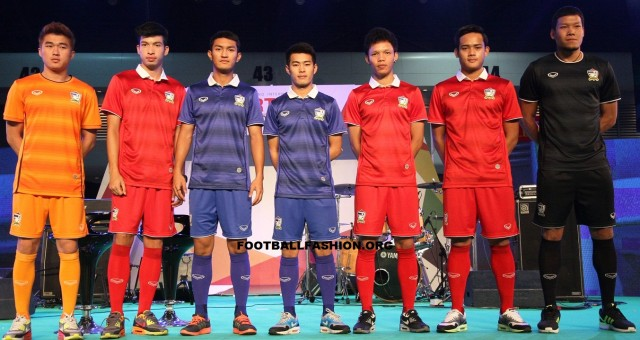 Thailand 2014/16 Grand Sport Home and Away Football Kit, Shirt, Jersey
