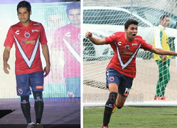 Tiburones Rojos de Veracruz 2015 Charly Camiseta de Futbol, Soccer Jersey, Football Kit, Shirt