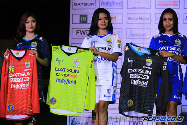 Persib Bandung 2015 League Home, Away And Third Kits