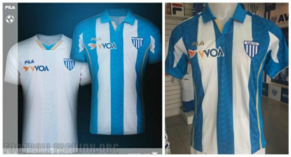 Avaí  Futebol Clube 2015 Fila Soccer Jersey. Football Shirt, Kit, Camisa