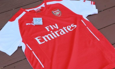 Arsenal Football Club 2014 2015 Puma Soccer Jersey, Maillot, Kit, Shirt, Replica