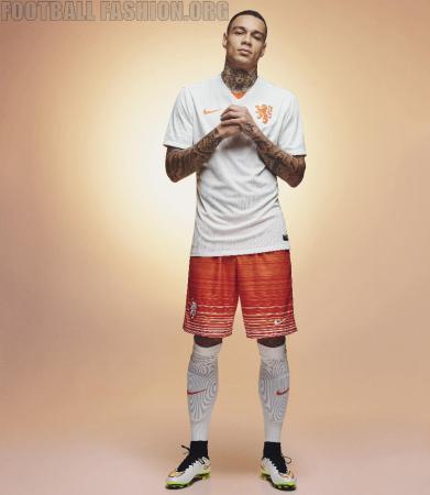 Netherlands 2015 2016 Nike Away Football Kit, Soccer Jersey, Shirt, Uittenue Oranje