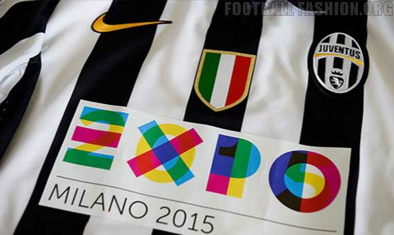 Juventus Switch Shirt Sponsor to EXPO 2015 for Three Matches