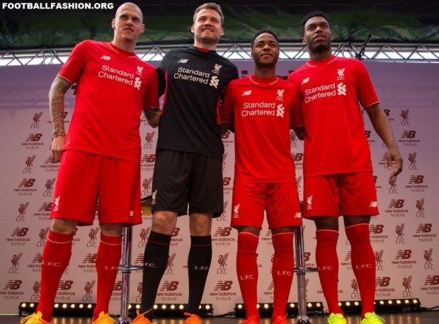 Liverpool Football Club 2015 2015 Red New Balance Home Kit, Shirt, Soccer Jersey, Camiseta de Futbol