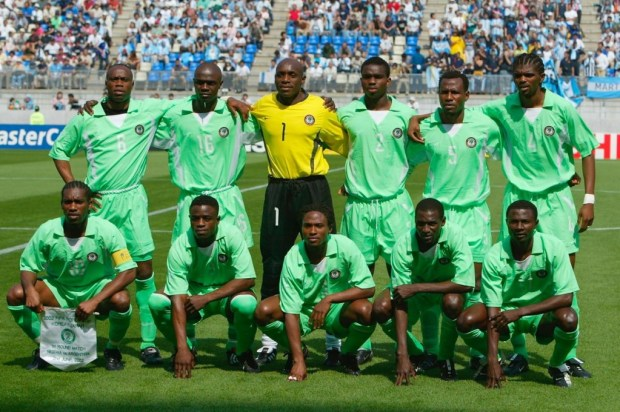Nigeria's 2002 FIFA World Cup Nike Primary Kit