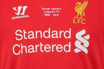 Steven Gerrard Warrior Liverpool 1998-2015 Commemorative Football Kit, Soccer Jersey, Shirt