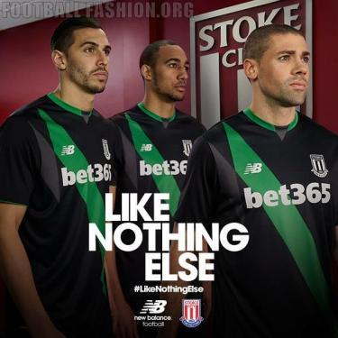 Stoke City FC 2015/16 New Balance Home and Away Football Kit, Soccer Jersey, Shirt
