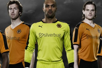3b47309652d Wolverhampton Wanderers FC 2015 2016 PUMA Home Football Kit