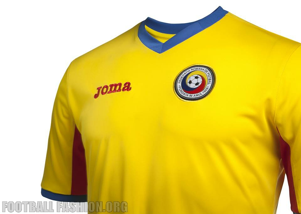 Romania 2015 16 Joma Home and Away Kits – FOOTBALL FASHION.ORG 0d8737642