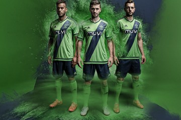 Southampton Football Club 2015 2016 adidas Green Away Football Kit, Soccer Jersey, Shirt, Camiseta