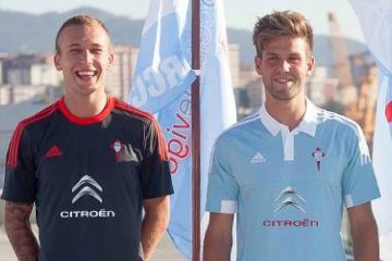 Celta Vigo 2015 2016 adidas Home and Away Football Kit, Soccer Jersey, Shirt, Camiseta, Equipacion