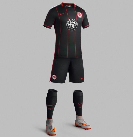 Eintracht Frankfurt  2015 2016 Nike Home Football Kit, Soccer Jersey, Shirt, Trikot, Heimtrikot