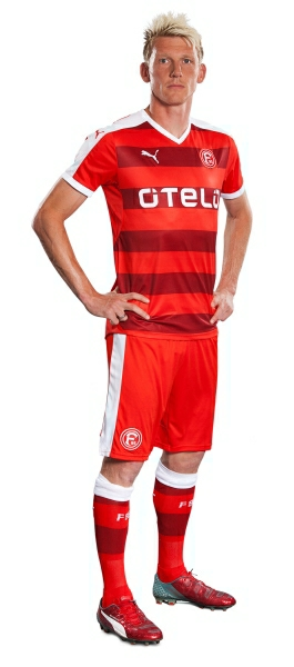 Fortuna Düsseldorf 2015 2016 PUMA Home Football Kit, Soccer Jersey, Shirt, Trikot