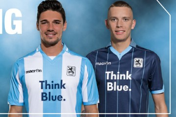 TSV 1860 München 2015 2016 Macron Home and Away Football Kit, Soccer Jersey, Shirt, Trikot