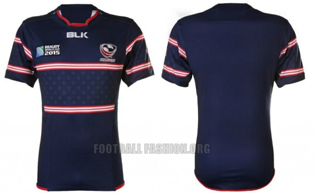 USA Eagles 2015 Rugby World Cup BLK Home and Away Jersey, Shirt, Kit
