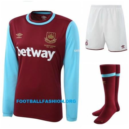 The Boleyn Kit - West Ham United's 2015 2016 Umbro Home Football Kit, Shirt, Soccer Jersey