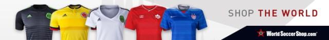 World Soccer Shop 2015 Women's World Cup Jerseys