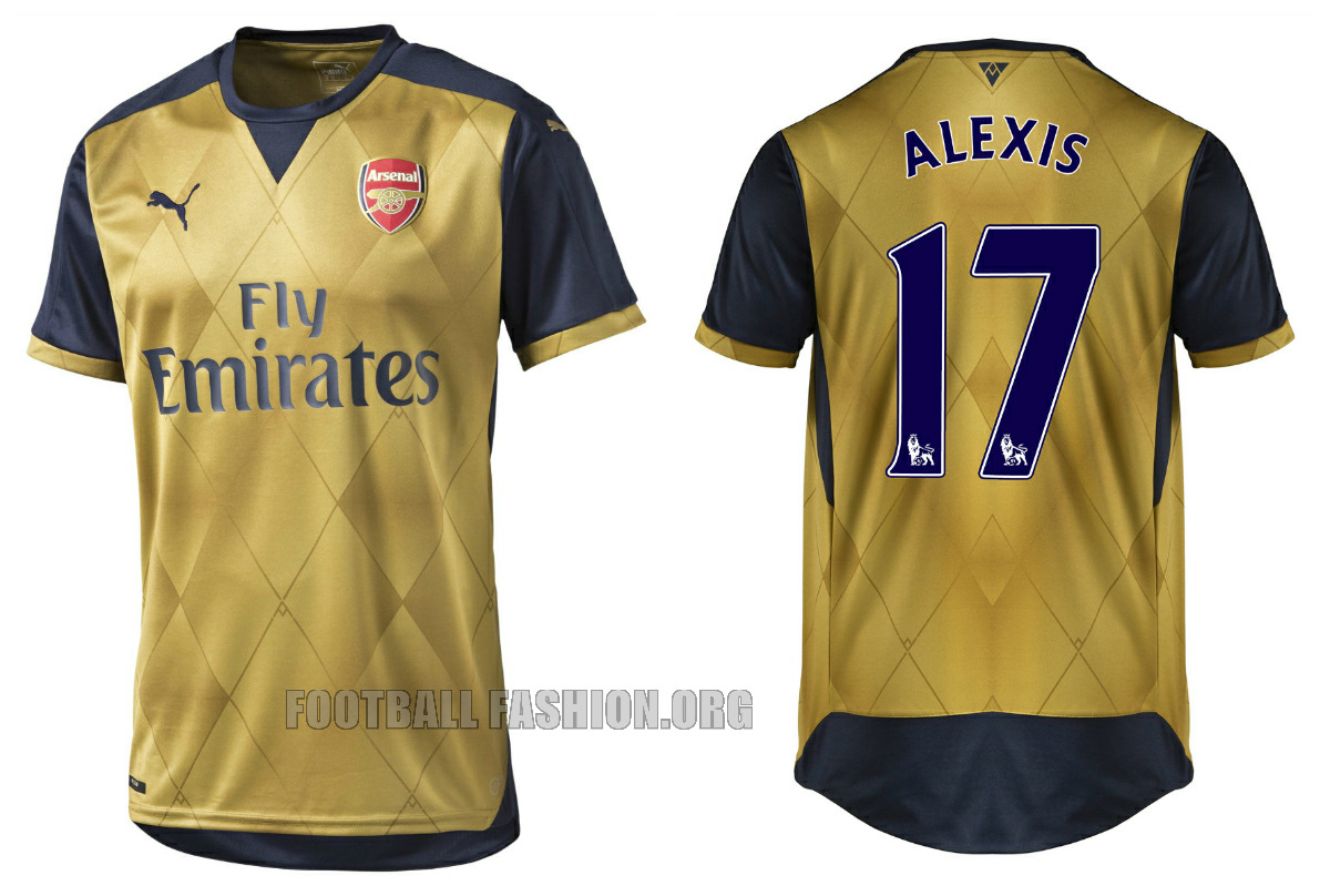 release date: cd937 66856 Arsenal FC Unveil 2015/16 PUMA Away Kit in Singapore ...