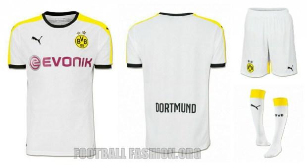 Borussia Dortmund 2015 2016 PUMA Home, Away and Third Football Kit, Soccer Jersey, Shirt, Trikot, Heimtrikot