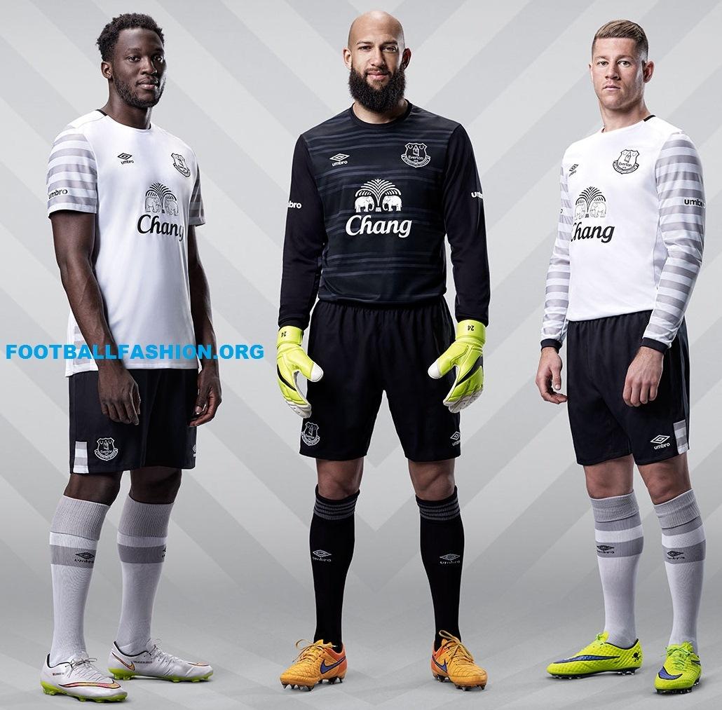 pretty nice c1c92 0e16c Everton FC 2015/16 Umbro Away Kit - FOOTBALL FASHION.ORG