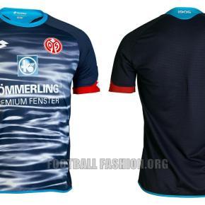 Mainz 05 2015 2016 Lotto Home, Away and Third Football Kit, Soccer Jersey, Shirt, Trikot
