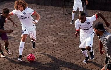 Paris Saint-Germain 2015 2016 Nike White Away Football Kit, Soccer Jersey, Shirt, Maillot