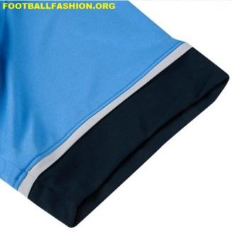 Tottenham Hotspur 2015 2016 Under Armour Blue Away Football Kit, Soccer Jersey, Shirt, Camiseta
