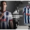 West Bromwich Albion 2015 2016 adidas Home Football Kit, Soccer Jersey, Shirt