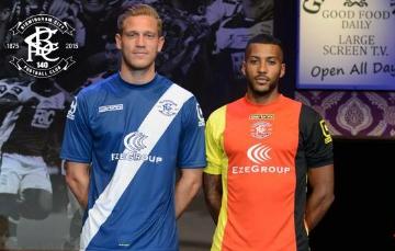 Birmingham City FC 2015 2016 Carbrini Home and Away Football KIt, Soccer Jersey, Shirt