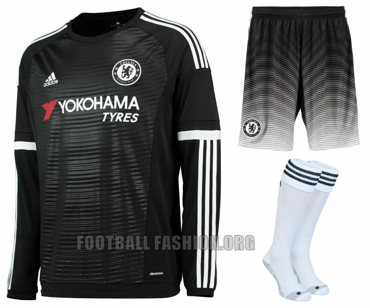 Chelsea FC 2015/16 adidas Third Kit – FOOTBALL FASHION.ORG