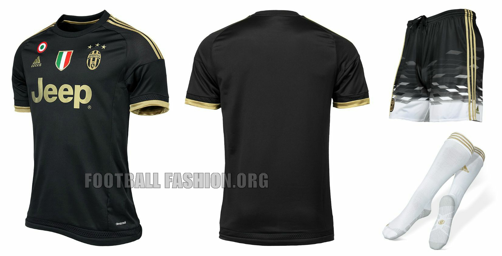 quality design cd3b7 7c2d1 Juventus 2015/16 adidas Third Kit - FOOTBALL FASHION.ORG