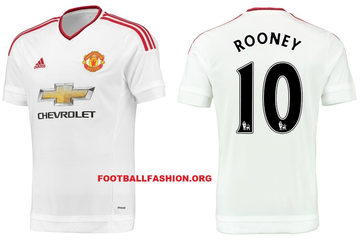 63692fd40 Manchester United FC 2015 16 adidas Away Kit - FOOTBALL FASHION.ORG
