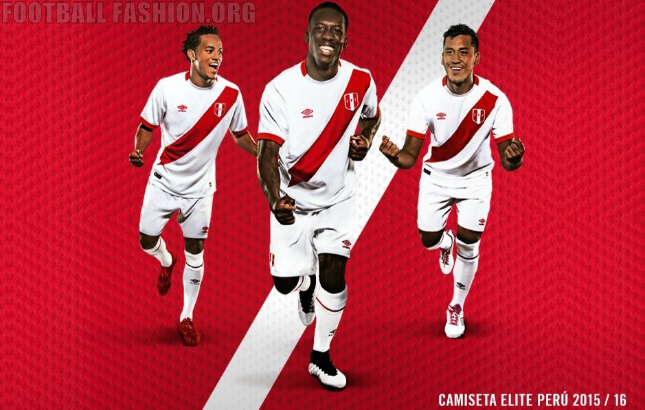 get cheap 6740f c9d97 Peru 2015/16 Umbro Home Jersey - FOOTBALL FASHION.ORG