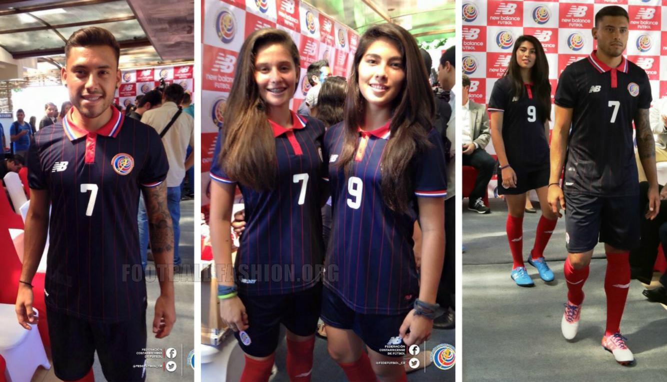 purchase cheap 6d34e c7581 Costa Rica 2015/16 New Balance Third Kit - FOOTBALL FASHION.ORG