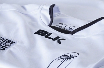 Fiji 2015 Rugby World Cup BLK Home and Away Kit, Jersey, Shirt