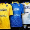 Frosinone Calcio 2015 2016 Legea Home, Away and Third Football Kit, Soccer Jersey, Shirt, Gara. Maglia