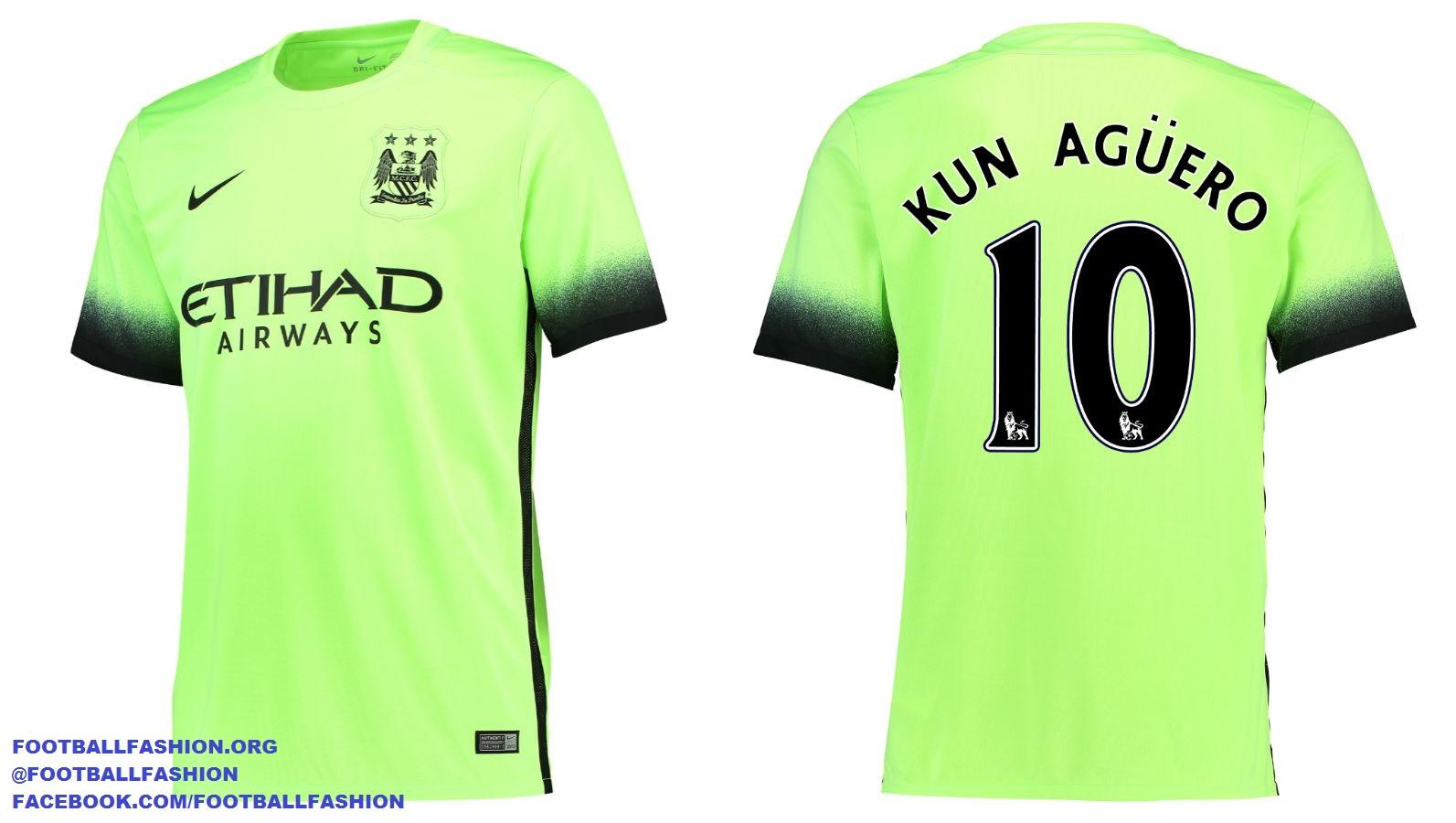 new style 31aa0 7230b Manchester City 2015/16 Nike Third Kit - FOOTBALL FASHION.ORG
