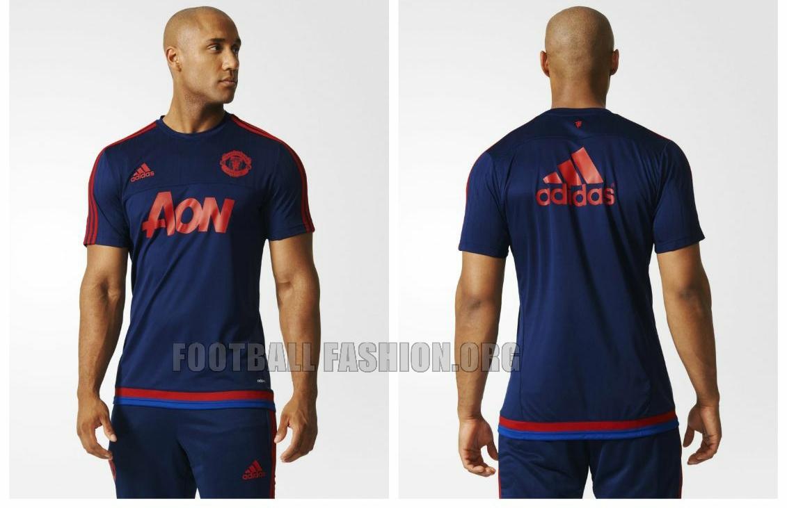 Manchester United 2015/16 adidas Training Jerseys - FOOTBALL FASHION
