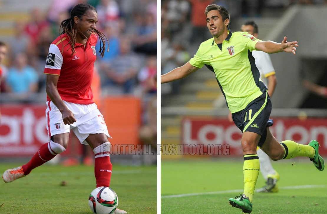 SC Braga: SC Braga 2015/16 Lacatoni Home And Away Kits