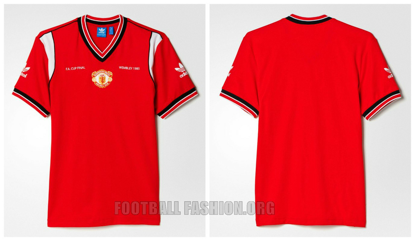 9b21195f0d8 Manchester United x adidas Originals 1985 FA Cup Final Collection ...